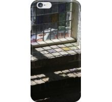 Duplicated colours stained glass iPhone Case/Skin