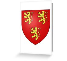 Anglesey Coat of Arms Greeting Card