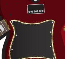 Dr. Frankenstein's Guitar Sticker