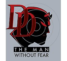 THE MAN WITHOUT FEAR Photographic Print