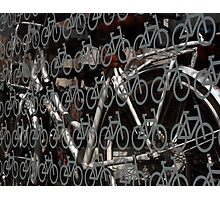 Land of bicycles Photographic Print