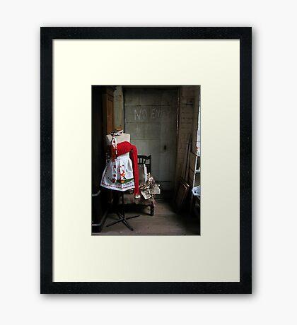 Junque Life #1 Framed Print