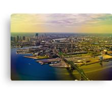 Goodbye Boston! Canvas Print