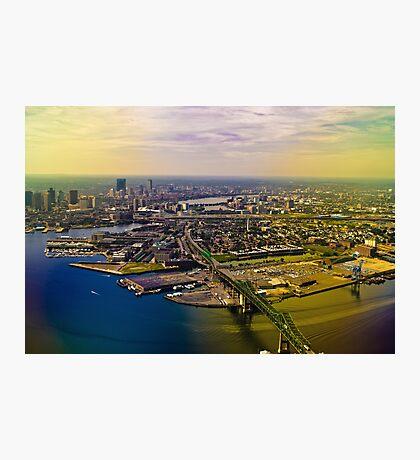 Goodbye Boston! Photographic Print