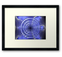 Mysterious Tunnel Framed Print