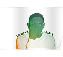 Kendrick Lamar Gradient Poster