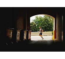 MORNING JOG (VITALITY) Photographic Print