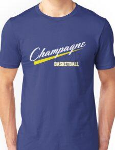 Champagne Basket 1 Blue Unisex T-Shirt