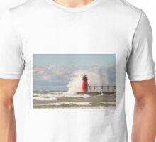 Lighthouse, South Haven, Michigan-4 Unisex T-Shirt