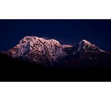 Annapurna Dawnlight Photographic Print