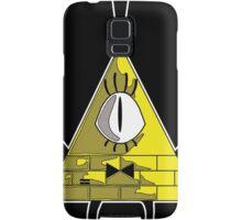 Space Triangle Bill Cipher - Yellow Samsung Galaxy Case/Skin