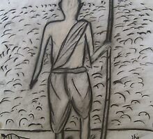 The Mahatma...!! by Rahul Kapoor