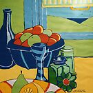 Still Life Acrylic by Donnahuntriss