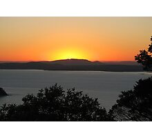 Sunset over Port Stephens - 3 Photographic Print