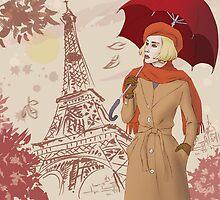 Autumn Paris by AugustLoye