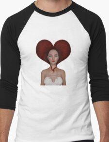 Queen of hearts portrait T-Shirt