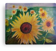 Provence Sunflowers Canvas Print