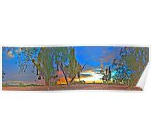 Banked Up - Panorama Poster