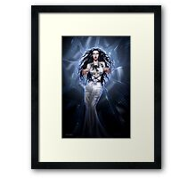 In the Arms of Despair Framed Print