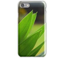 Green as green can be iPhone Case/Skin