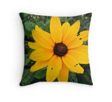 Dark Yellow... Throw Pillow