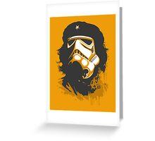 Che Guevara Trooper Greeting Card