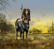 Centaur Autumn by RAGallery