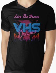 VHS Dreams Live the Dream - PALMS T-SHIRT Mens V-Neck T-Shirt
