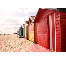 DENDY BEACH, BRIGHTON, MELBOURNE Photographic Print