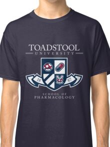 Toadstool University - Dark Classic T-Shirt