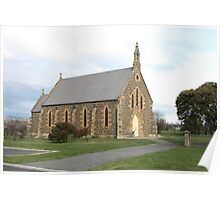 St Michael's Roman Catholic Church 1857. Tasmania Poster