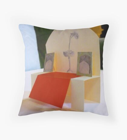 Living and non-living matters of space - detail #3 Throw Pillow