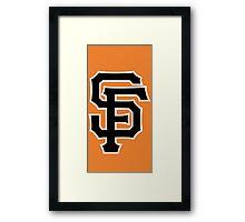 SF Logo Artwork Framed Print