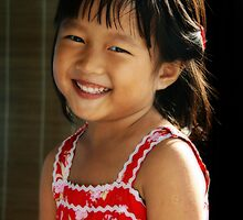 Sweet Little Girl by Steven  Siow