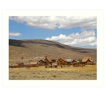 Shadows of a Ghost Town ~ Bodie Art Print