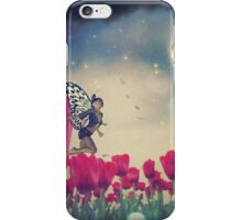 Fairy and Tulips 6 iPhone Case/Skin