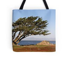 Coastal Cypress Tote Bag