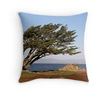 Coastal Cypress Throw Pillow