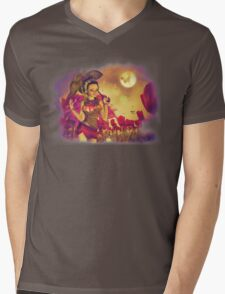 Fairy and Tulips 7 Mens V-Neck T-Shirt