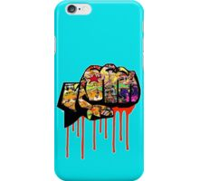 Graffiti covered fist iPhone Case/Skin