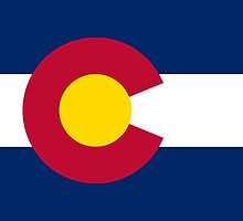 Flag of Colorado - Authentic version by Bruiserstang
