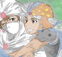 Minwu and Firion - Best Friends Forever by suzuriheinze