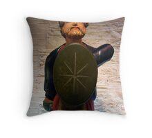 Ship's Figurehead 2 Throw Pillow