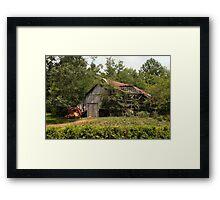 Hampshire Barn Framed Print