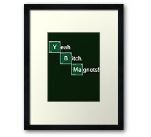 Yeah Bitch Magnets! Framed Print