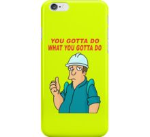Ultimate Work T-shirt iPhone Case/Skin
