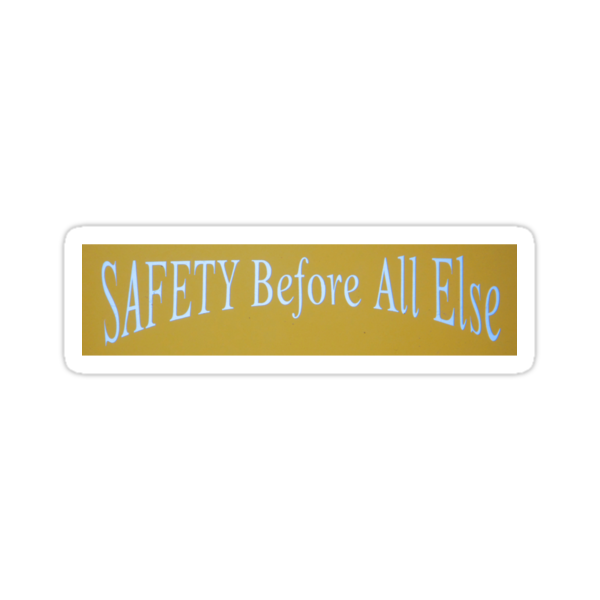 SAFETY Before All Else by Tama Blough