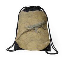 Little Dragon Drawstring Bag