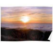Sunrise On The Seagrass Poster