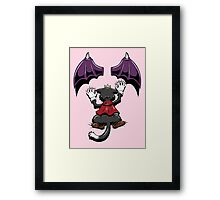 Hang in their Caity Framed Print